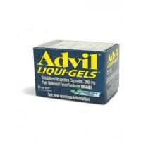 Адвил ибупрофен взрослый в гелевых капсулах 200 мг, Advil Ibuprofen For Adults 200mg 20 gel capsules
