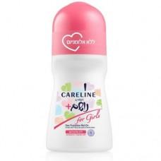 Дышащий шариковый дезодорант без алюминия для девушек Careline, 75 мл