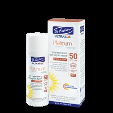 Анти-возрастной защитный крем от солнца для лица Dr Fischer Ultrasol Platinum 50 Spf , 50 мл
