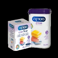 Детская молочная смесь Матерна Меадрин Mehadrin 12+ месяцев 700 грамм