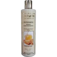Восстанавливающий шампунь с медом, Beauty Life Intensive shampoo with natural honey 400 ml