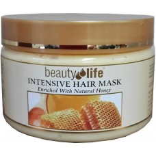 Восстанавливающая маска для волос с медом, Beauty Life Intensive Hair Mask Honey 250 ml