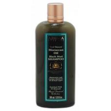 Грязевой шампунь с аргановым маслом, Aroma Dead Sea Argan Oil Dead Sea Black Mud Shampo 380 ml