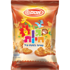 Печенье детское в виде животных, Baby Cookies animals Osem 250g