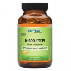 Витамин Е 400 (смесь токоферолов) Supherb E-400 Mixed Tocopherols 90 капс