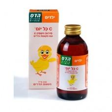 Витамин С с экстрактом шиповника сироп для детей Hadas 240мл