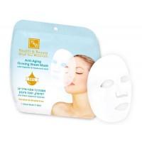 Тканевая маска для подтяжки кожи, Health&Beauty Anti-Aging firming sheet mask
