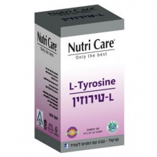 Аминокислота Л-тирозин 500 мг, Nutri Care L-Tyrosine 500mg 60caps.